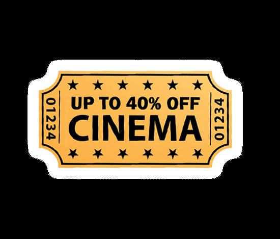 cinema discount ticket
