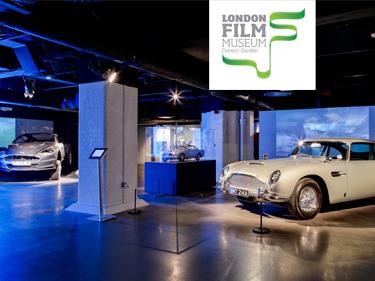 London Film Museum Bond in Motion Exhibit