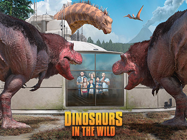 Dinosaurs in the Wild Day Out