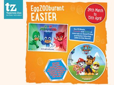 EggZOOburant Easter at Twycross Zoo