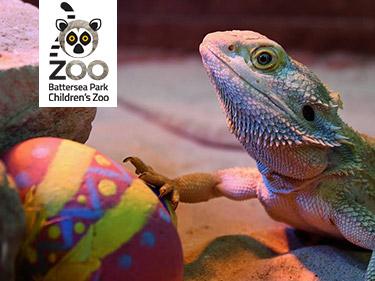 Easter Egg Hunt at Battersea Park Zoo