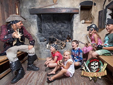 Interactive Pirates Quest Day Out in Newquay