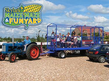 Skylark Maize Maze & Funyard Day Out