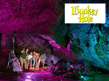 Magical Wookey Hole Caves in Somerset