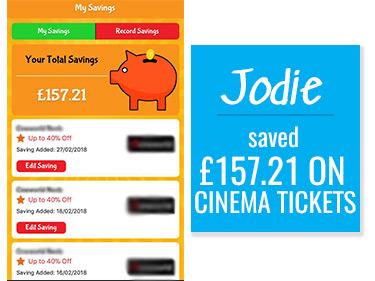 Voucher for Cheap Cinema Tickets