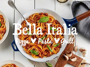 Bella Italia Food Voucher