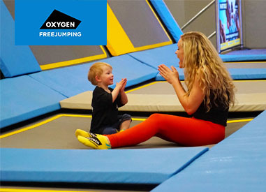 Oxygen Freejumping Little O Toddler Sessions