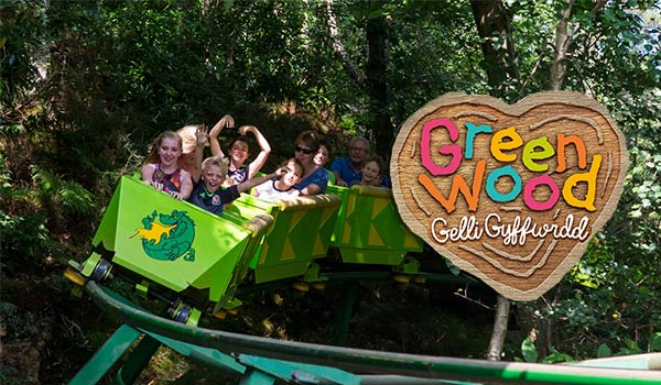 Greenwood Forest Park Family Theme Park Fun