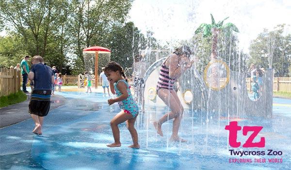 Twycross Zoo Kids Wet Playground!