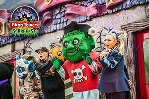 The UK's top scarefest for October
