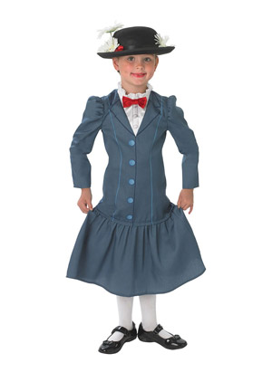 Mary Poppins Halloween Costume for Kids
