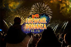 Gullivers Fireworks Bonanza for families