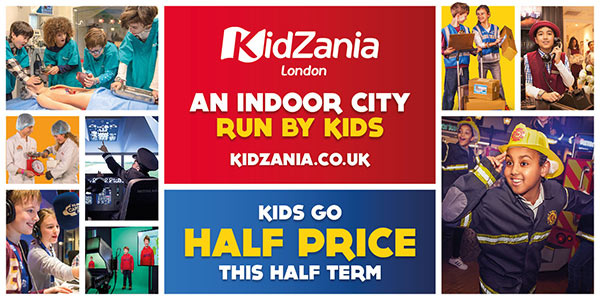 KidZania Family Day Out for Half Term