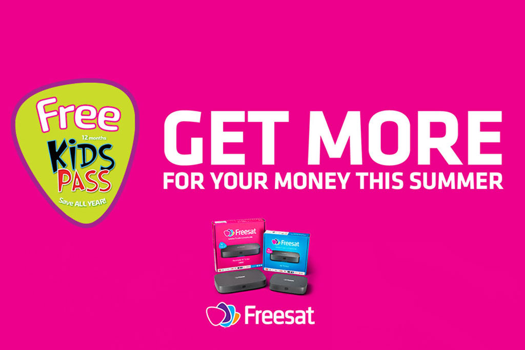 DRG announce new national campaign with Freesat